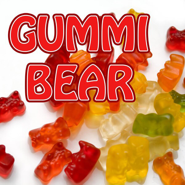 Aroma Pink Spot Gummi Bear