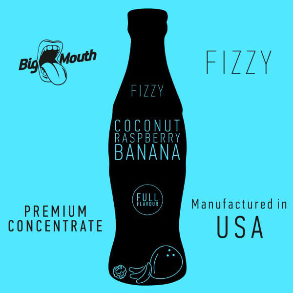 Aroma Big Mouth Coconut | Raspberry | Banana