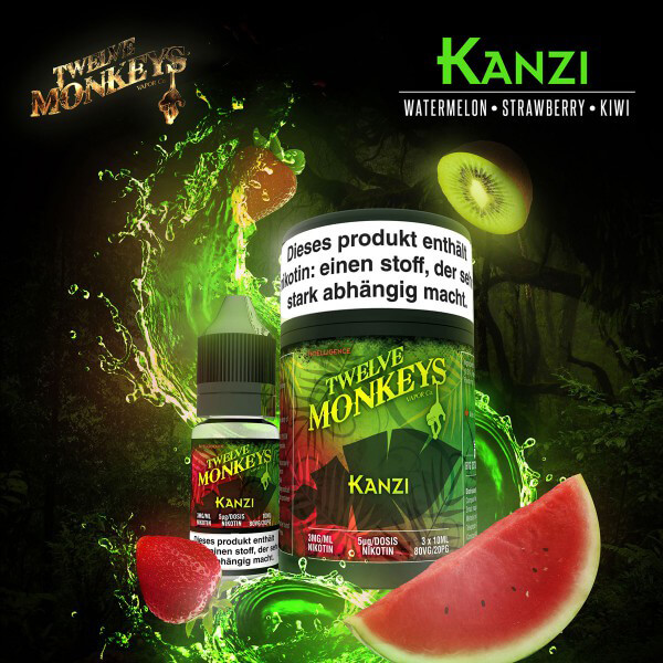 (3x) Twelve Monkeys Kanzi