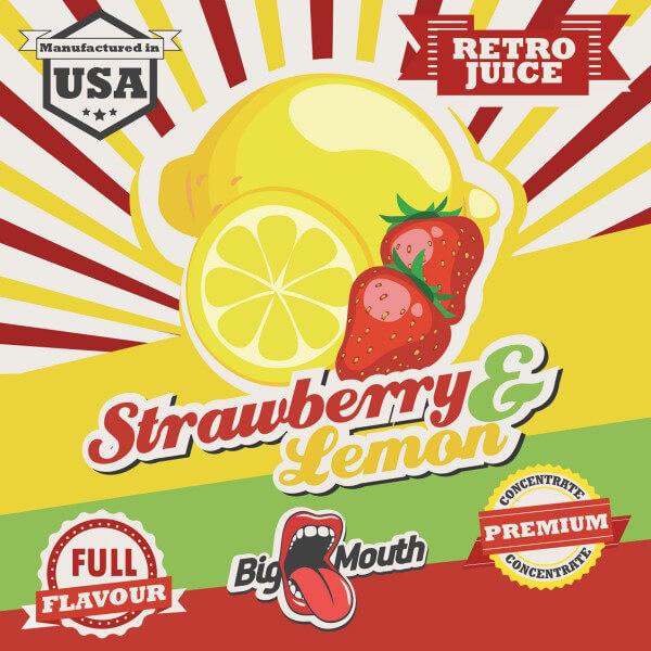 Aroma Big Mouth Strawberry and Lemon