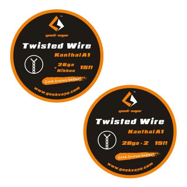 GeekVape Twisted Kanthal A1 Draht | Steam-Store