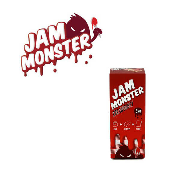 Jam Monster Strawberry DIY Liquid