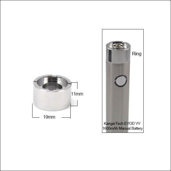 Kanger EVOD VV 1600mAh Batterie Cone