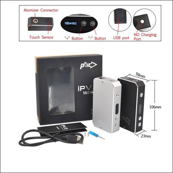 Pioneer4you IPV V3 150w Box Mod