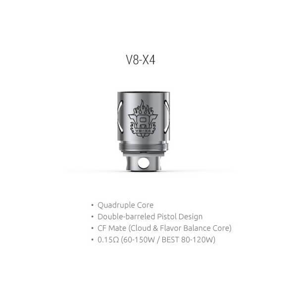 SMOK TFV8 V8-X4 Quadruple Verdampferkopf