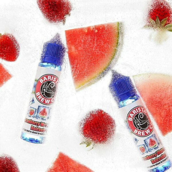 Barista Brew Co. Frozen Strawberry Watermelon Refresher DIY Liquid