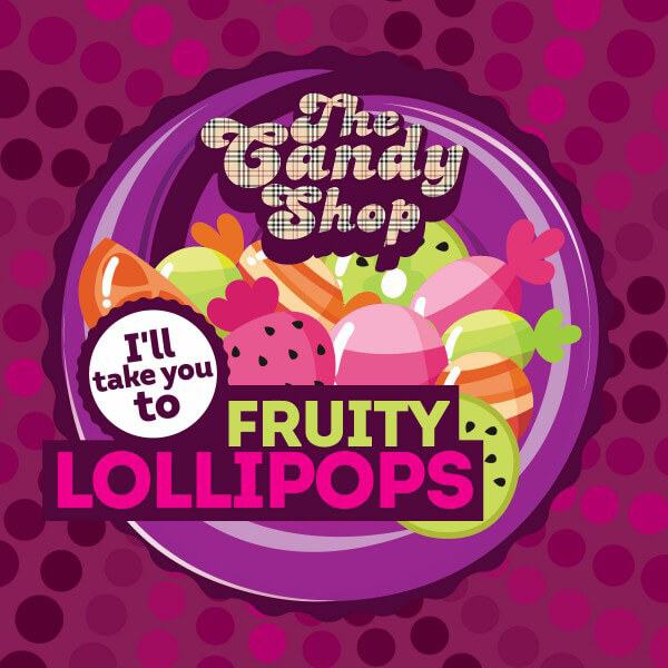 Aroma Big Mouth Fruity Lollipops