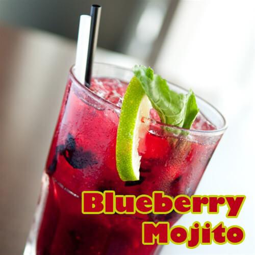 Pink Spot Blueberry Mojito
