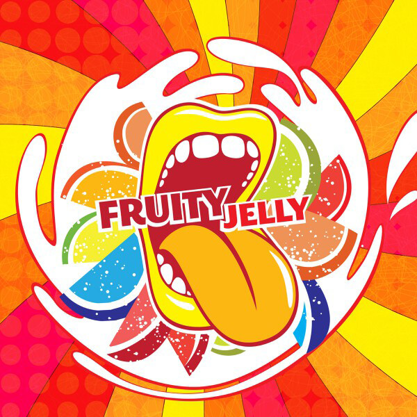 Aroma Big Mouth Fruit Jelly
