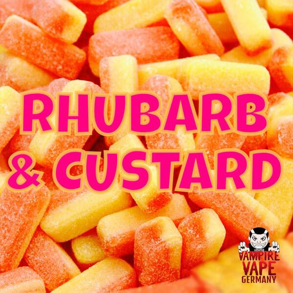 Aroma Vampire Vape Rhubarb and Custard