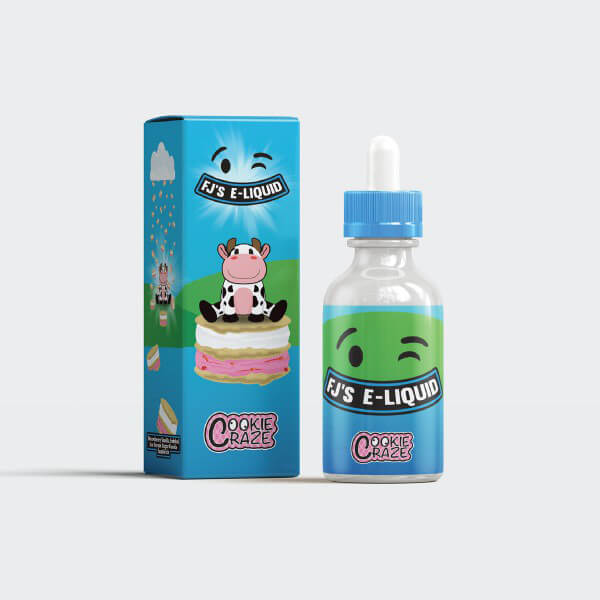 Fu(:k Jerry's Cookie Craze DIY Liquid