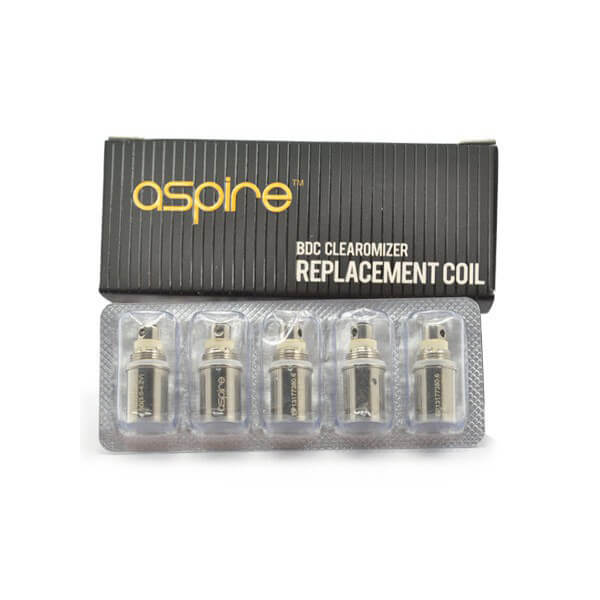 (5x) Aspire CE5-S / ET-S / K1 upgraded BDC Verdampfer-Kopf