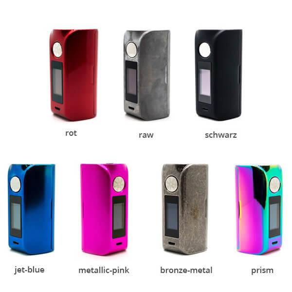 asMODus Minikin 2 180W Touch Screen Mod Farben