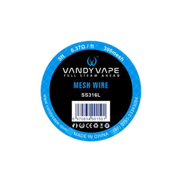 Vandy Vape SS316L Mesh Wire 300mesh
