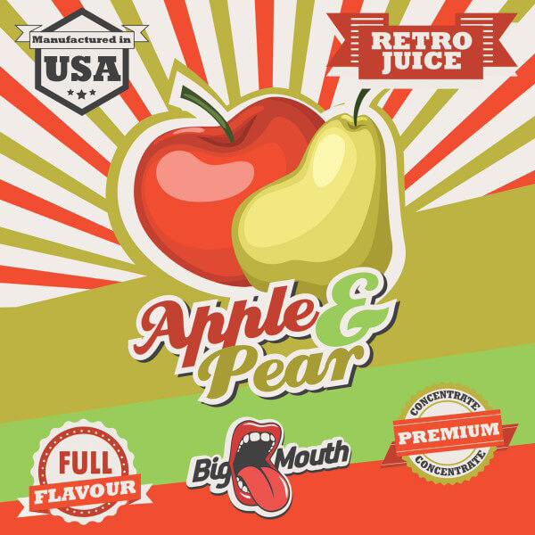 Aroma Big Mouth Apple and Pear