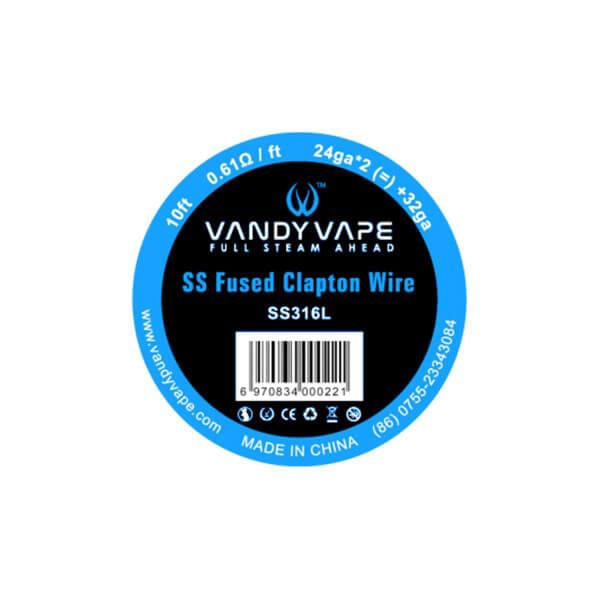 Vandy Vape SS316 Fused Clapton Wire