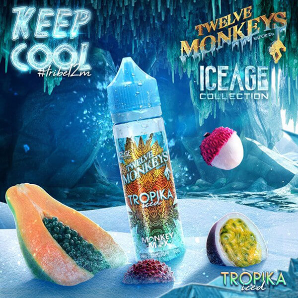 Twelve Monkeys IceAge Tropika Iced DIY Liquid