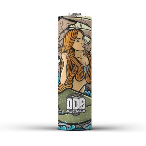ODB Wraps 18650 Schrumpfschlauch Mermaid