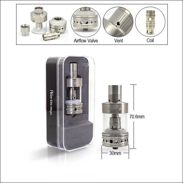 Aspire Atlantis Mega Tank Kit