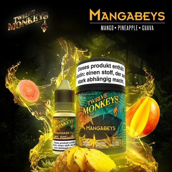 (3x) Twelve Monkeys Mangabeys