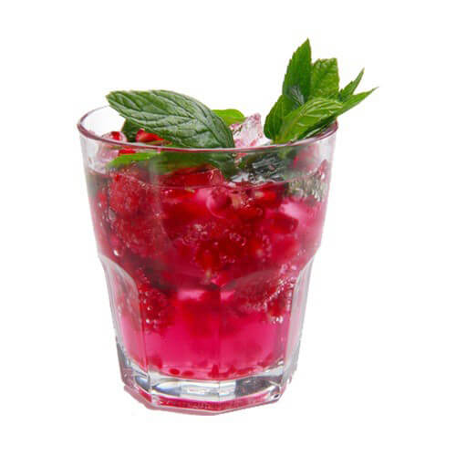 Pink Spot Raspberry Mojito