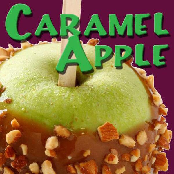 Pink Spot Caramel Apple