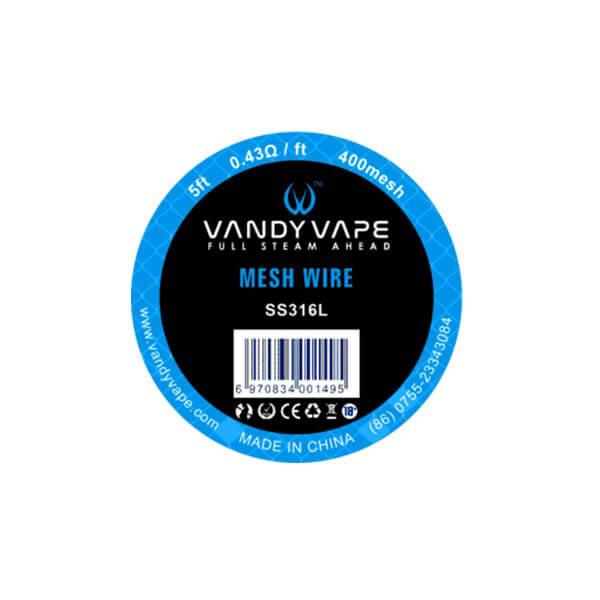 Vandy Vape SS316L Mesh Wire 400mesh