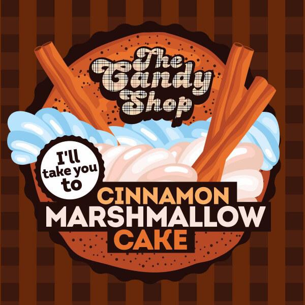 Aroma Big Mouth Cinnamon Marshmallow Cake