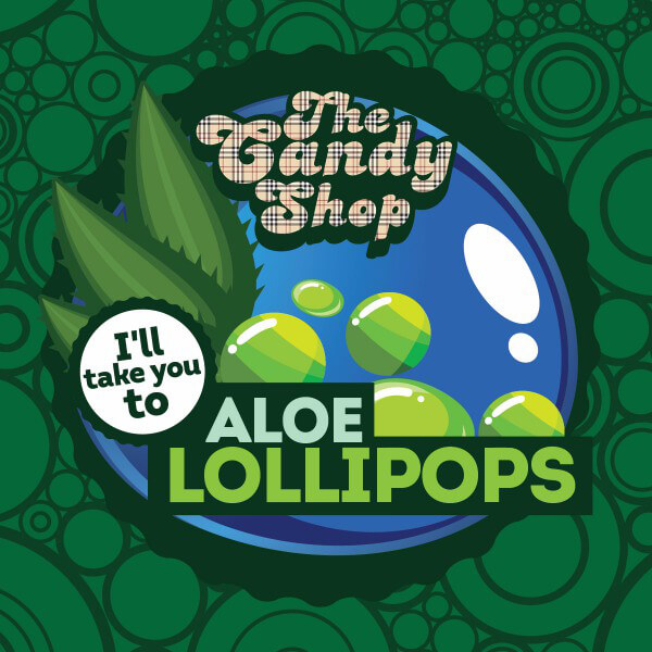 Aroma Big Mouth Aloe Lollipops